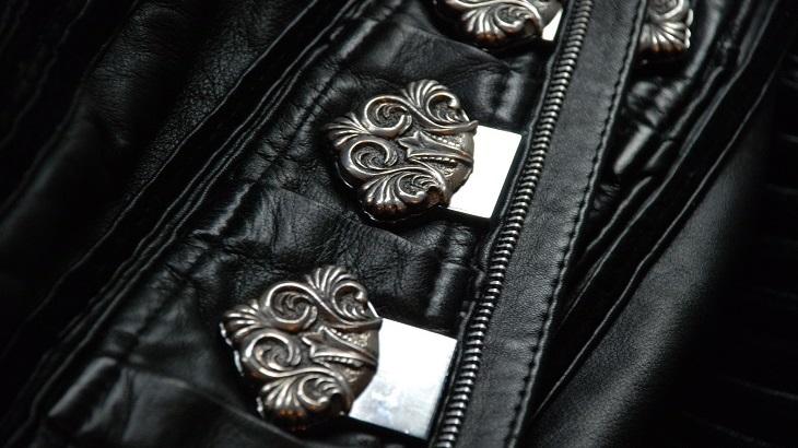 Leather Future-Retro Doublet